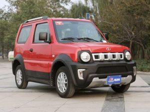Dayang Luncurkan Mobil Yang Jadi Tiruan Suzuki Jimny