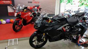 TVS Keluarkan Motor Tuk Bersaing Dengan Kawasaki Ninja 250R