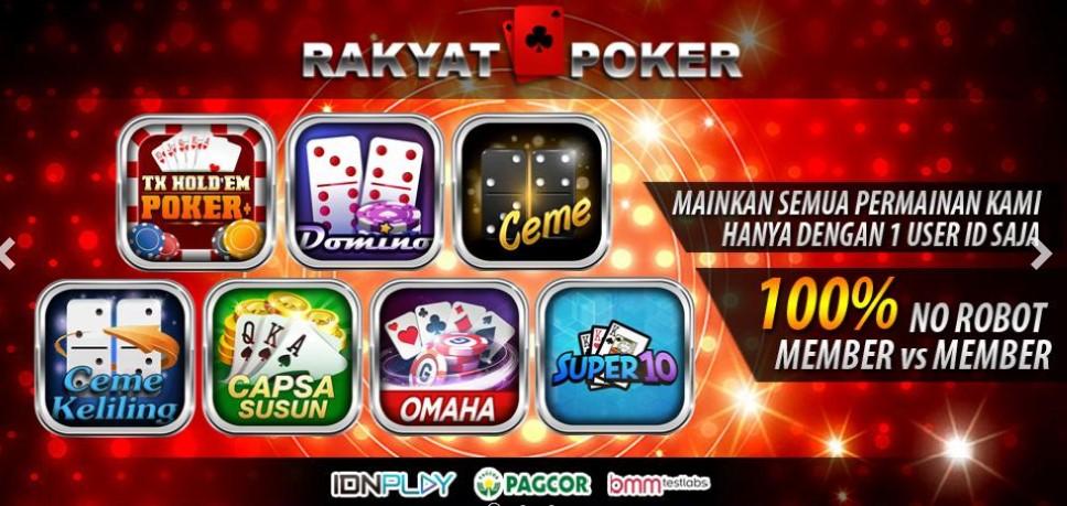 Rakyatpoker Agen Idn Poker Mudah Menang